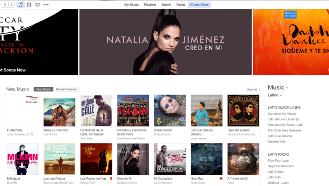 Natalia Jimenez mixed by Jon Rezin on iTunes