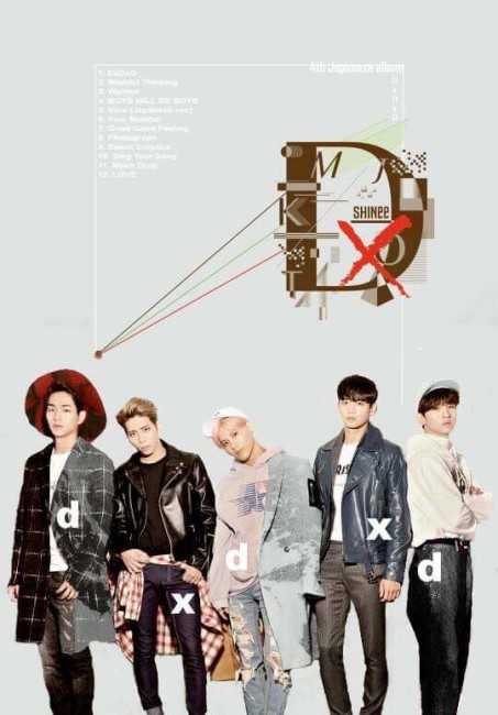 SHINee DxDxD, Wanted, Boys Will Be Boys, Your Number, Good Good Feeling mixed by Jon Rezin